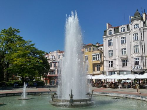 Plovdiv Urban Water Bulgaria City Europe